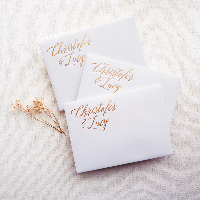 Wedding Invitation of Christofer & Lucy by Prima Card - 003