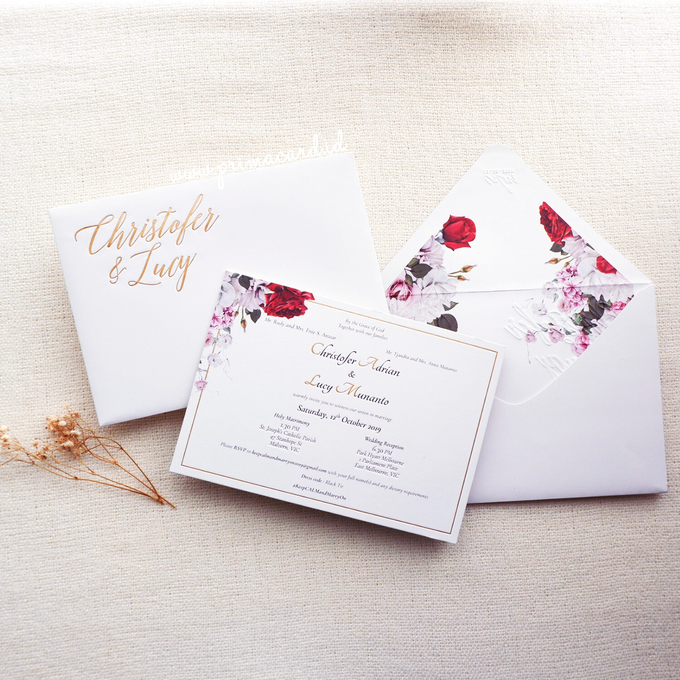 Wedding Invitation of Christofer & Lucy by Prima Card - 004