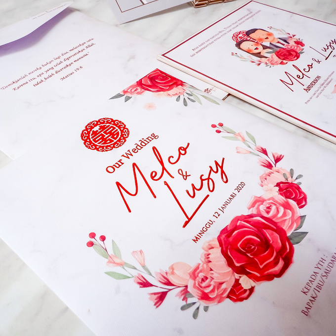 Wedding Invitation of Melco & Lusy by Prima Card - 003