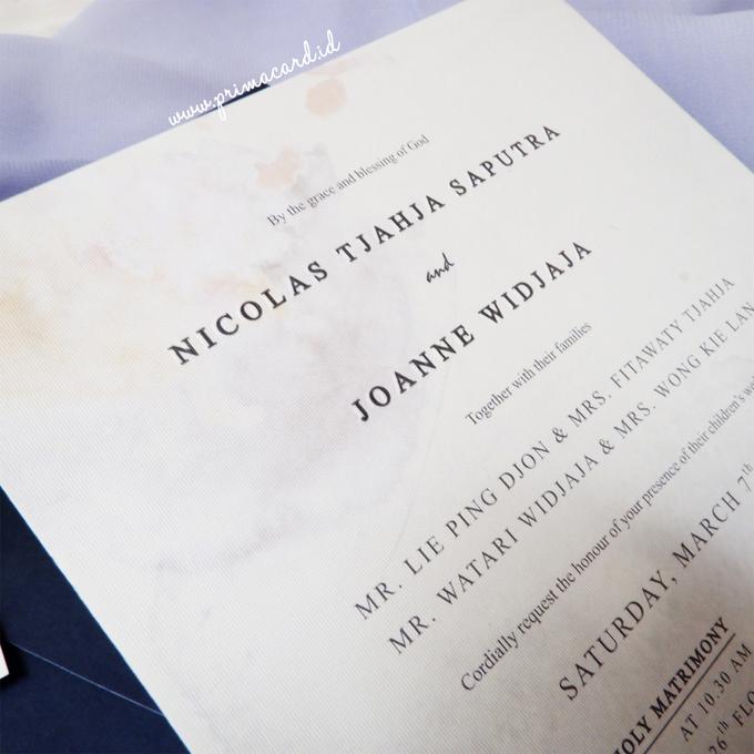 Wedding Invitation of Nicolas & Joanne by Prima Card - 005