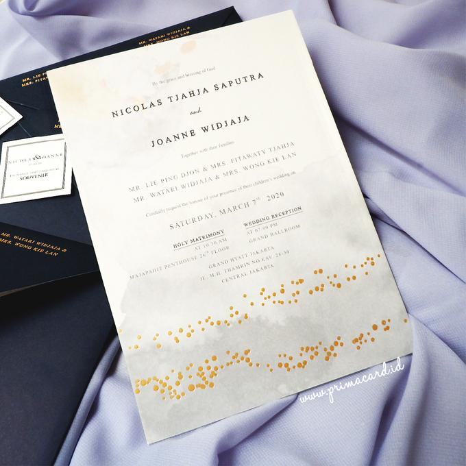 Wedding Invitation of Nicolas & Joanne by Prima Card - 004