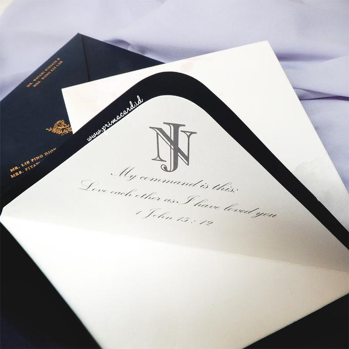 Wedding Invitation of Nicolas & Joanne by Prima Card - 001