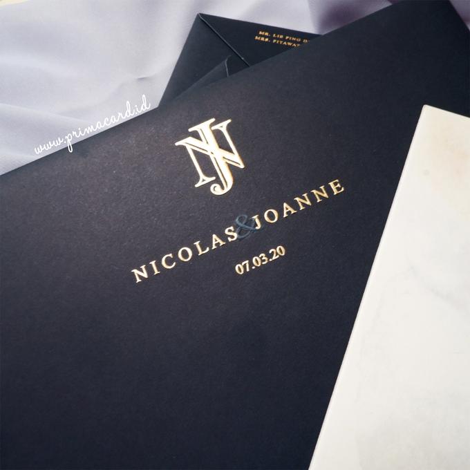 Wedding Invitation of Nicolas & Joanne by Prima Card - 003