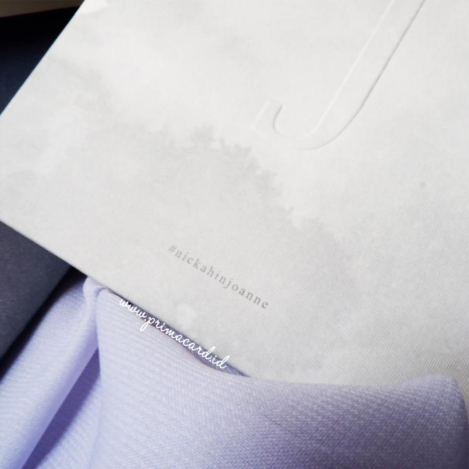 Wedding Invitation of Nicolas & Joanne by Prima Card - 007