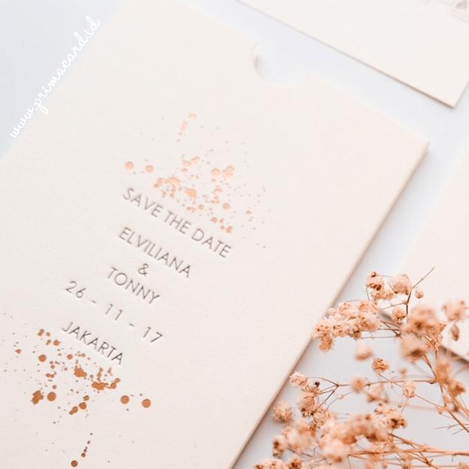 Wedding Invitation of Elviliana & Tony by Prima Card - 003