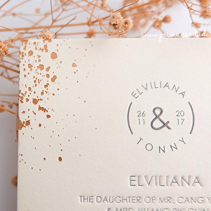 Wedding Invitation of Elviliana & Tony by Prima Card - 002