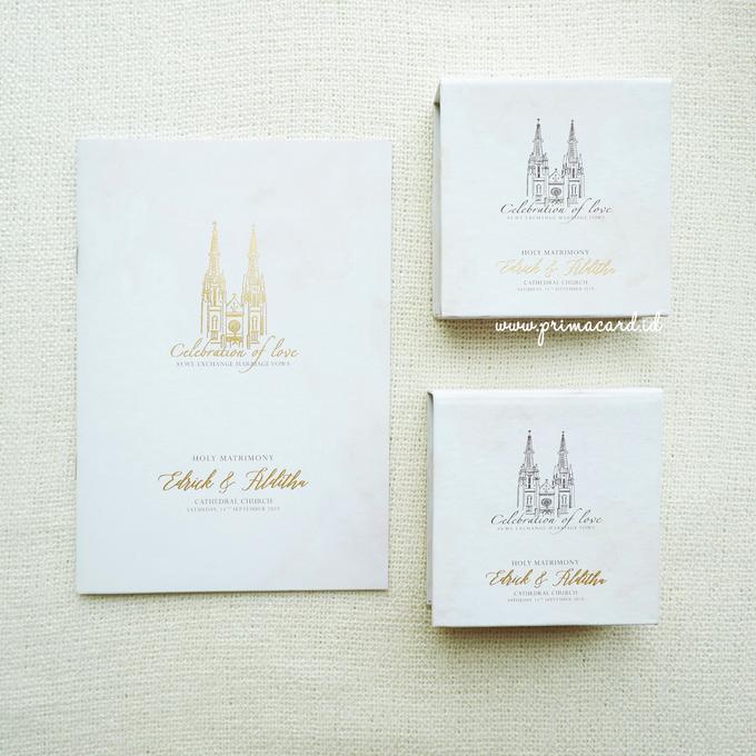 Wedding Invitation of Edrick & Alditha by Prima Card - 003