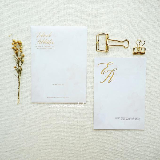 Wedding Invitation of Edrick & Alditha by Prima Card - 001