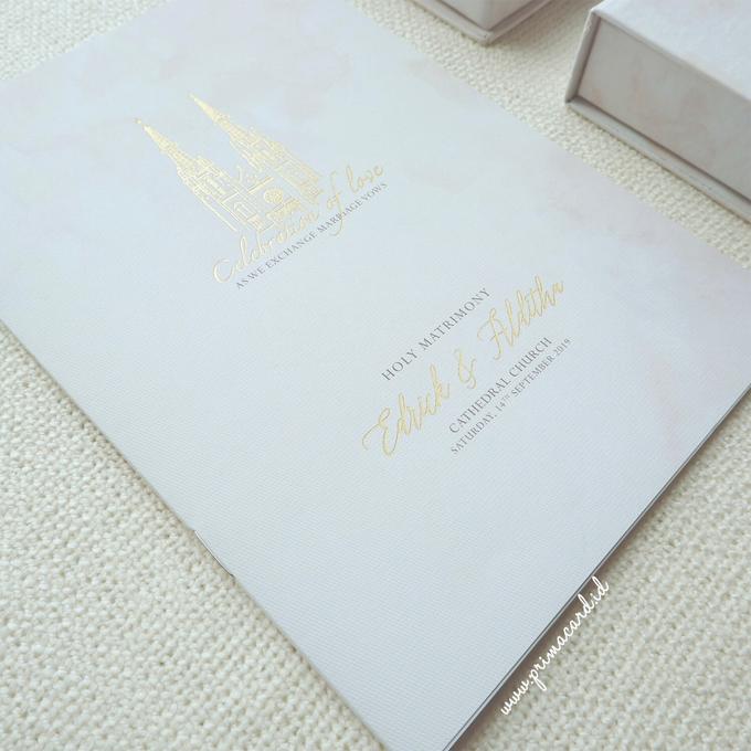 Wedding Invitation of Edrick & Alditha by Prima Card - 002