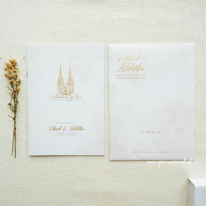 Wedding Invitation of Edrick & Alditha by Prima Card - 004