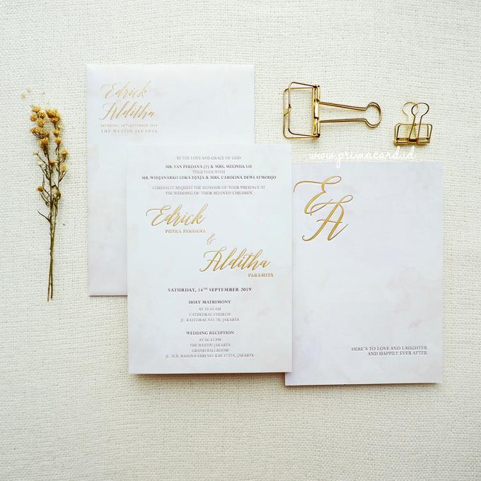 Wedding Invitation of Edrick & Alditha by Prima Card - 005