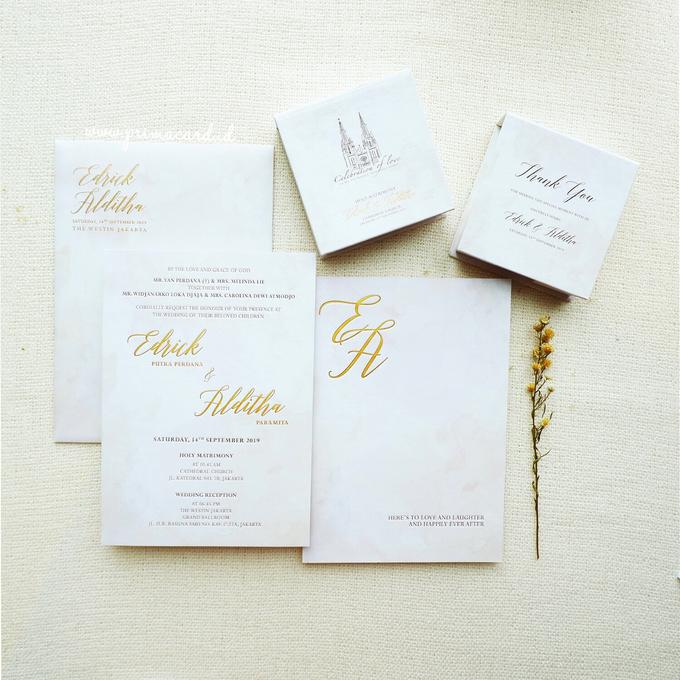 Wedding Invitation of Edrick & Alditha by Prima Card - 007