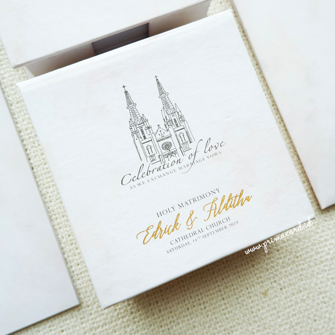 Wedding Invitation of Edrick & Alditha by Prima Card - 006