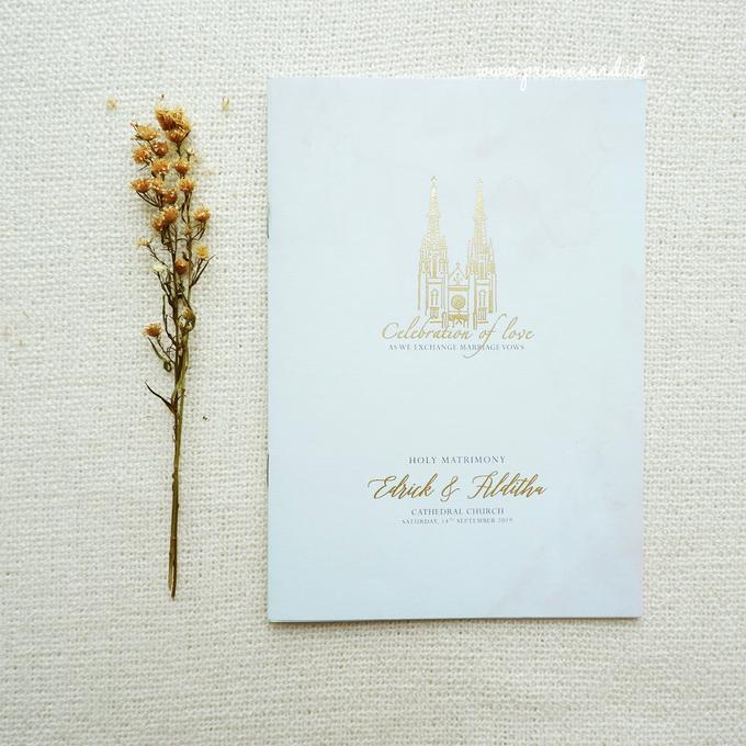 Wedding Invitation of Edrick & Alditha by Prima Card - 010