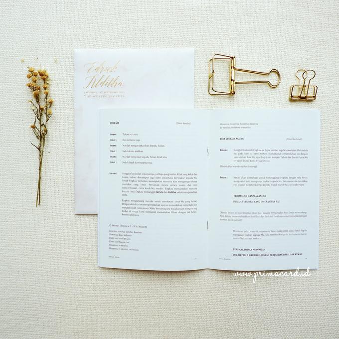 Wedding Invitation of Edrick & Alditha by Prima Card - 011