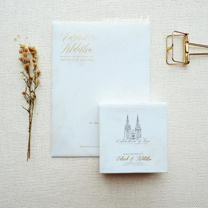 Wedding Invitation of Edrick & Alditha by Prima Card - 012