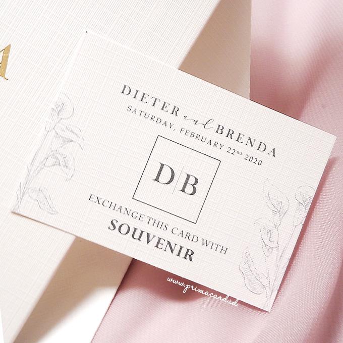 Wedding Invitation of Dieter & Brenda by Prima Card - 005