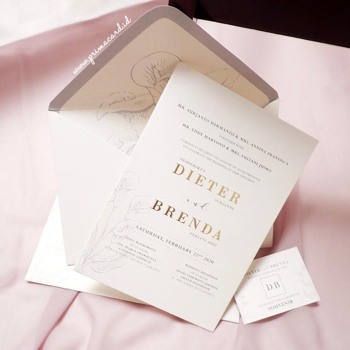 Wedding Invitation of Dieter & Brenda by Prima Card - 004