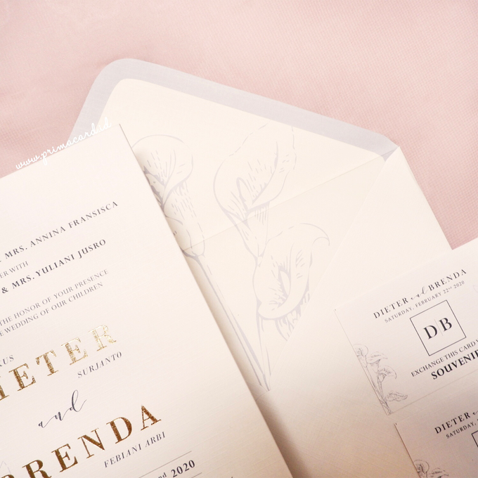 Wedding Invitation of Dieter & Brenda by Prima Card - 003
