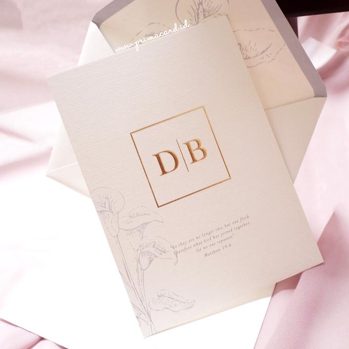 Wedding Invitation of Dieter & Brenda by Prima Card - 006