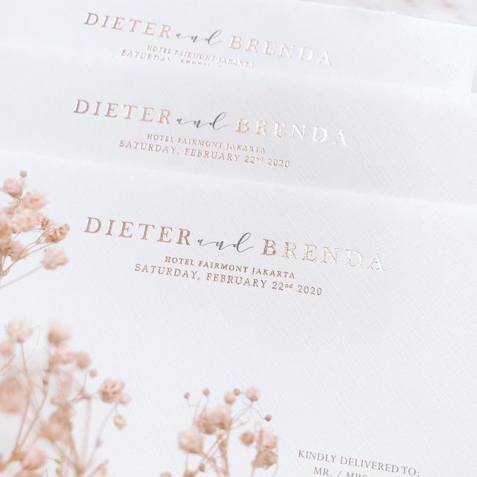 Wedding Invitation of Dieter & Brenda by Prima Card - 007
