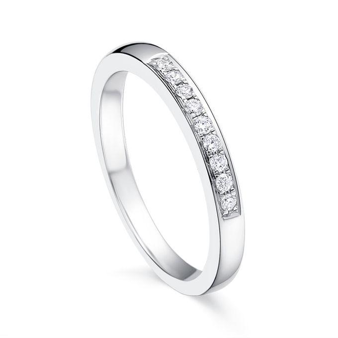 TIARIA Princess Nine Diamond Engagement Ring Cincin Tunangan Berlian by TIARIA - 005