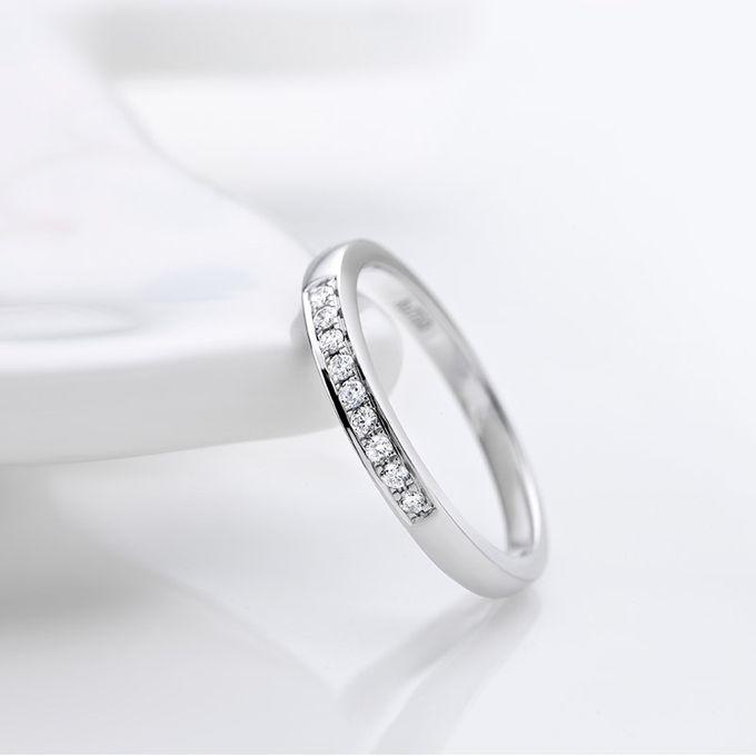 TIARIA Princess Nine Diamond Engagement Ring Cincin Tunangan Berlian by TIARIA - 002