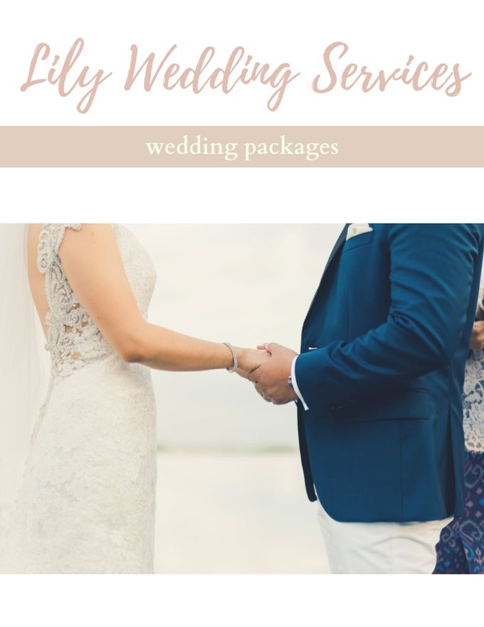 Our Wedding Packages by Lily Wedding Services - 001