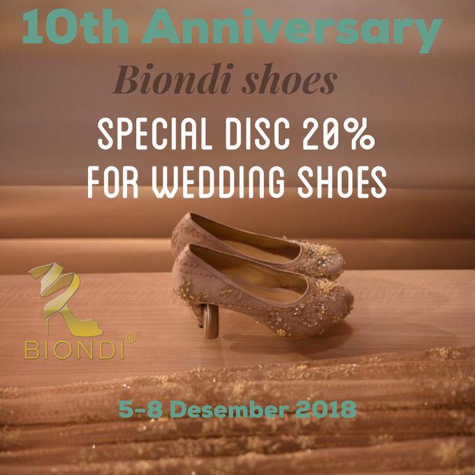 10th anniversary Biondi by Wedding shoes by Biondi - 001