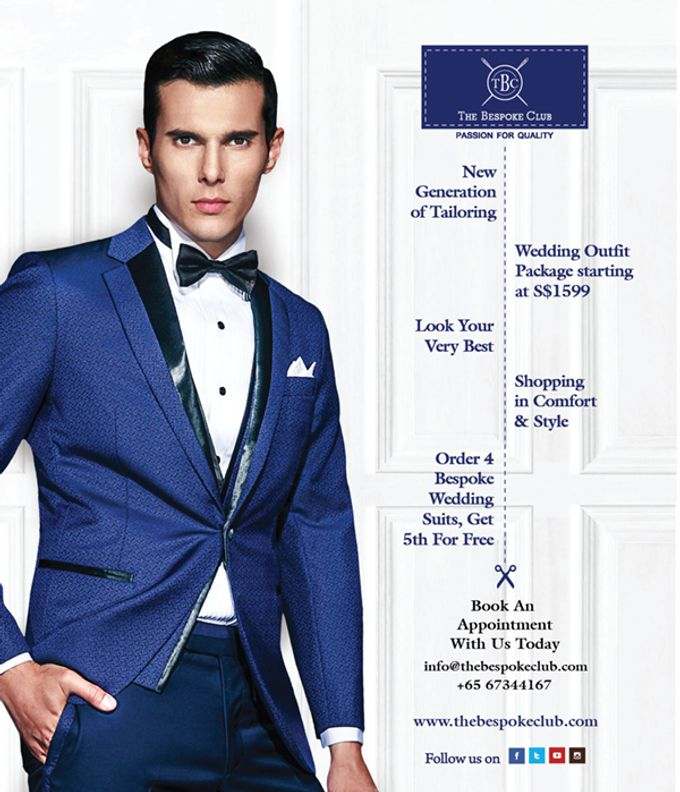 Wedding Outfit Package by The Bespoke Club - 001