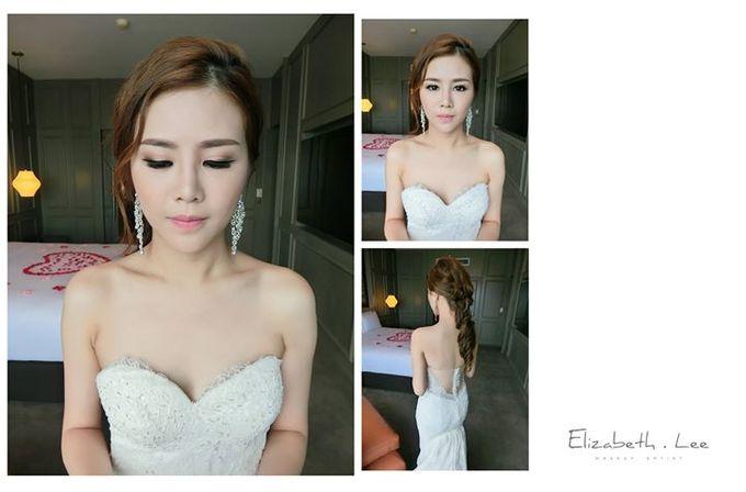 Wedding Day Bride Makeup Service by Elizabeth Lee Makeup Artist - 017