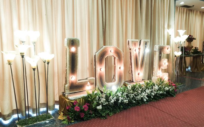 The Wedding Of Rezky & Rizal by Dirasari Catering - 005