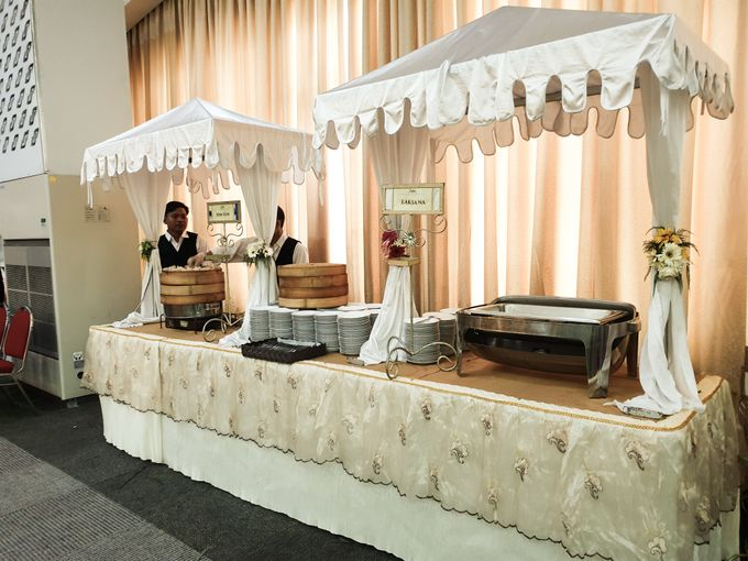 The Wedding Of Rezky & Rizal by Dirasari Catering - 001