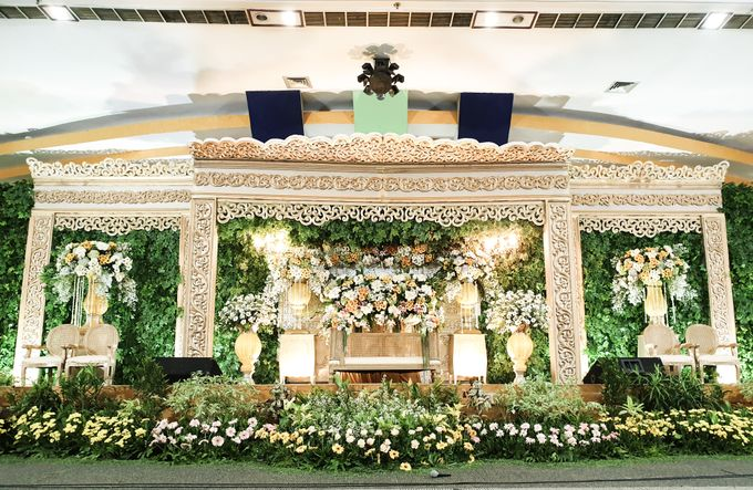 The Wedding Of Rezky & Rizal by Dirasari Catering - 012