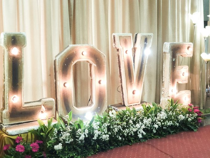 The Wedding Of Rezky & Rizal by Dirasari Catering - 011