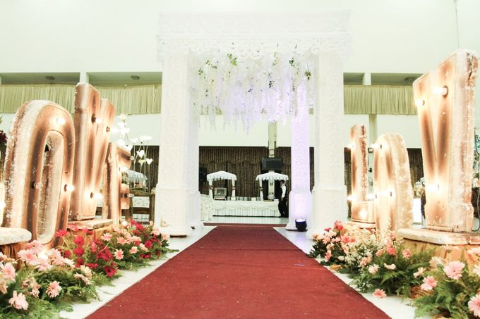 The Wedding Of Rima & Idrus by Dirasari Catering - 012