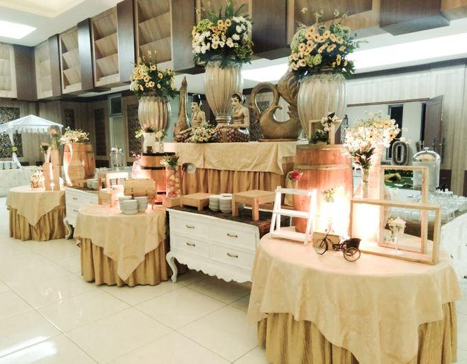 The Wedding Of Nesty & Fani by Dirasari Catering - 006