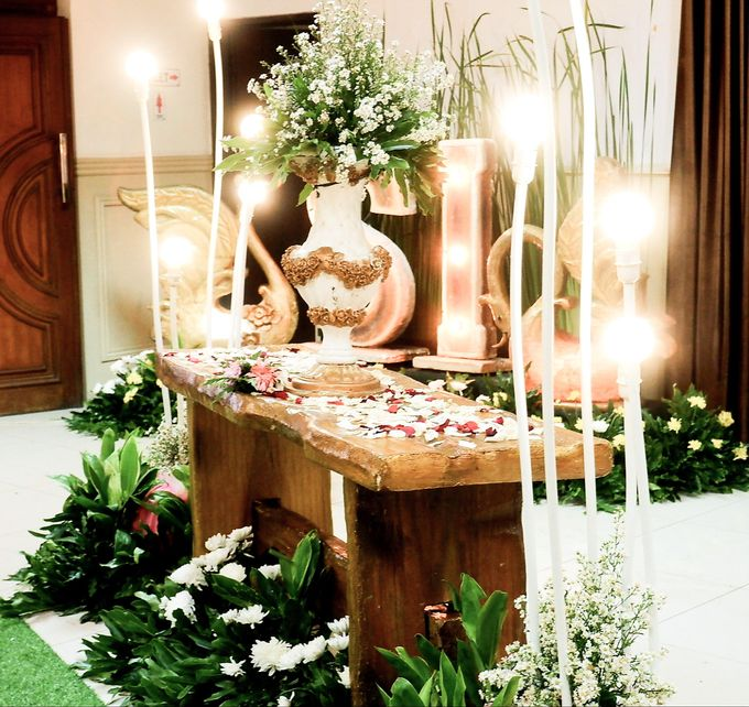 Rustic Wedding by Dirasari Catering - 003