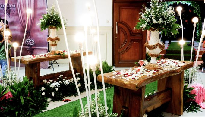 Rustic Wedding by Dirasari Catering - 004