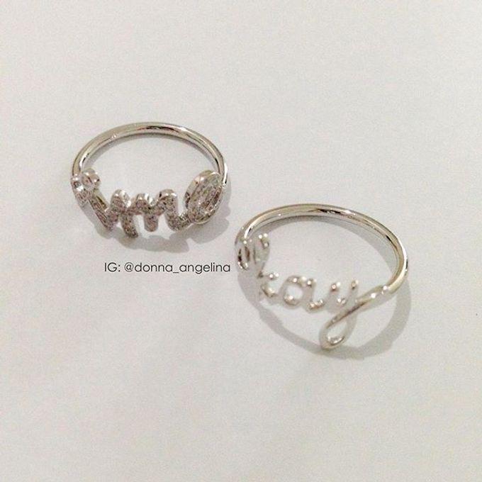 Name & Initial by DA Jewelry - 007