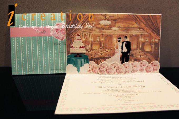 3 Dimensional Wedding Invitation by Icreation - 003