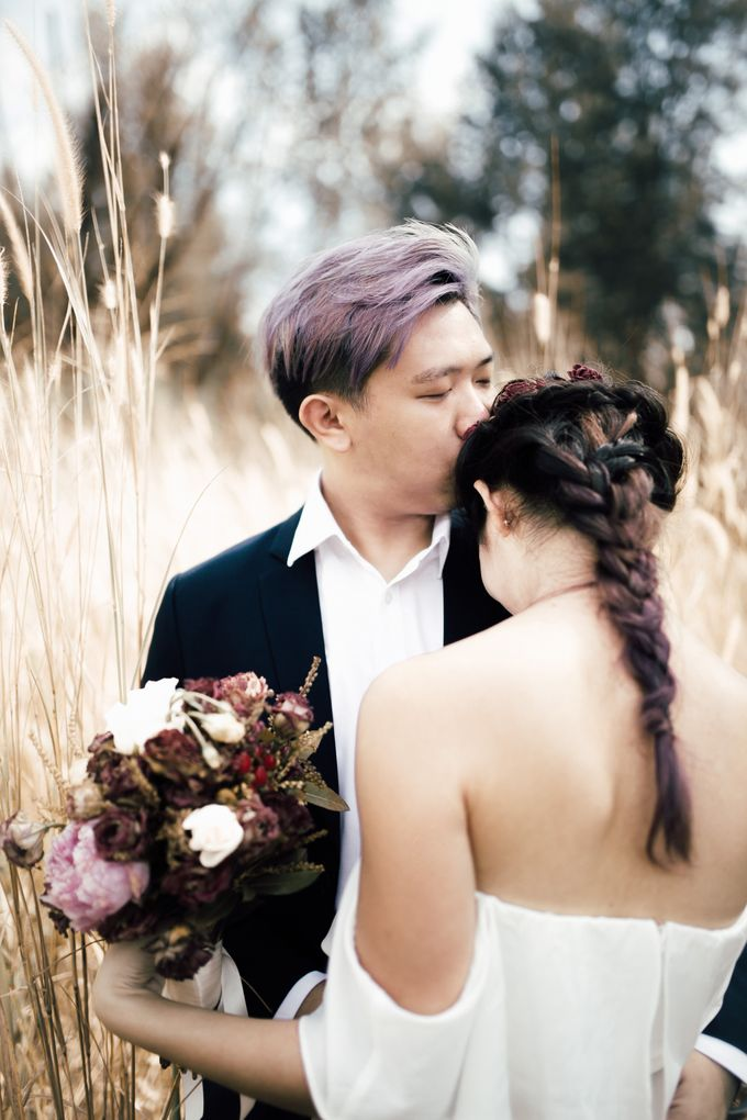 Prewedding shoot with Eddie and Amanda by By Priscilla Er / Makeup Artist - 002