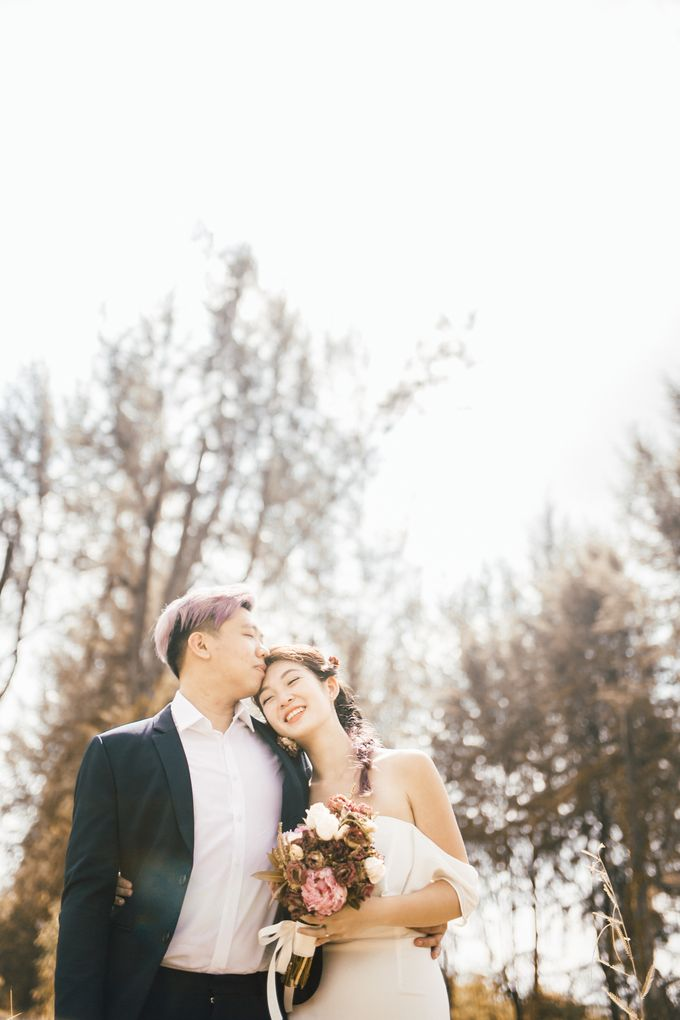 Prewedding shoot with Eddie and Amanda by By Priscilla Er / Makeup Artist - 004