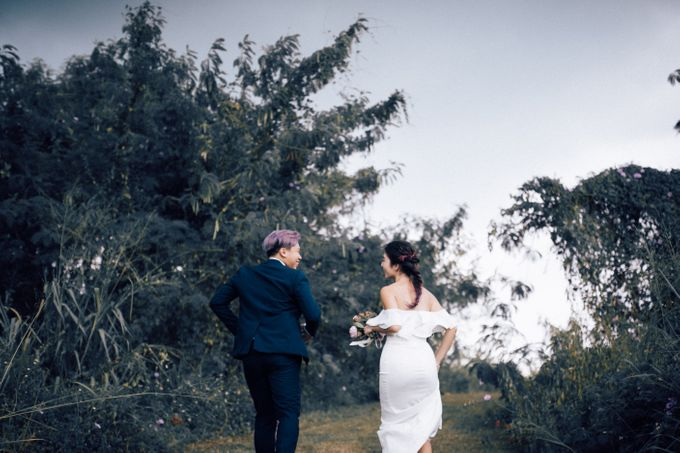 Prewedding shoot with Eddie and Amanda by By Priscilla Er / Makeup Artist - 006