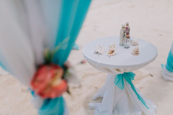Kristina & Sergejus  Wedding Destination Saona Island by Jennifer C  Wedding & Event Agency - 015