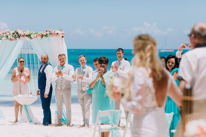 Kristina & Sergejus  Wedding Destination Saona Island by Jennifer C  Wedding & Event Agency - 017