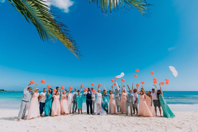 Kristina & Sergejus  Wedding Destination Saona Island by Jennifer C  Wedding & Event Agency - 024