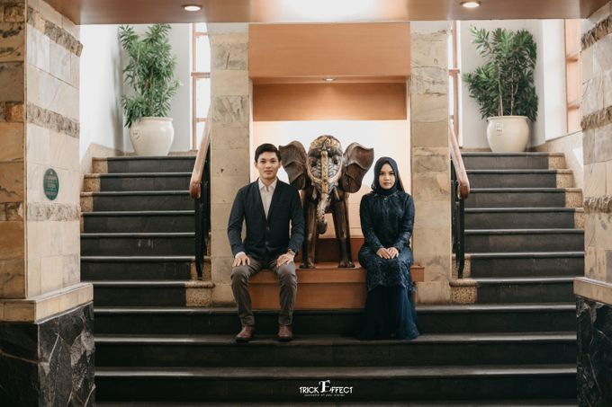The Story of Pury & Arbi at Golf Gading Serpong by Trickeffect - 049