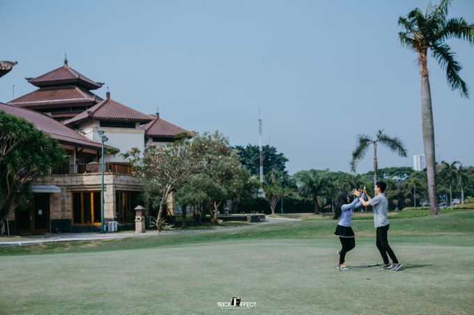 The Story of Pury & Arbi at Golf Gading Serpong by Trickeffect - 016