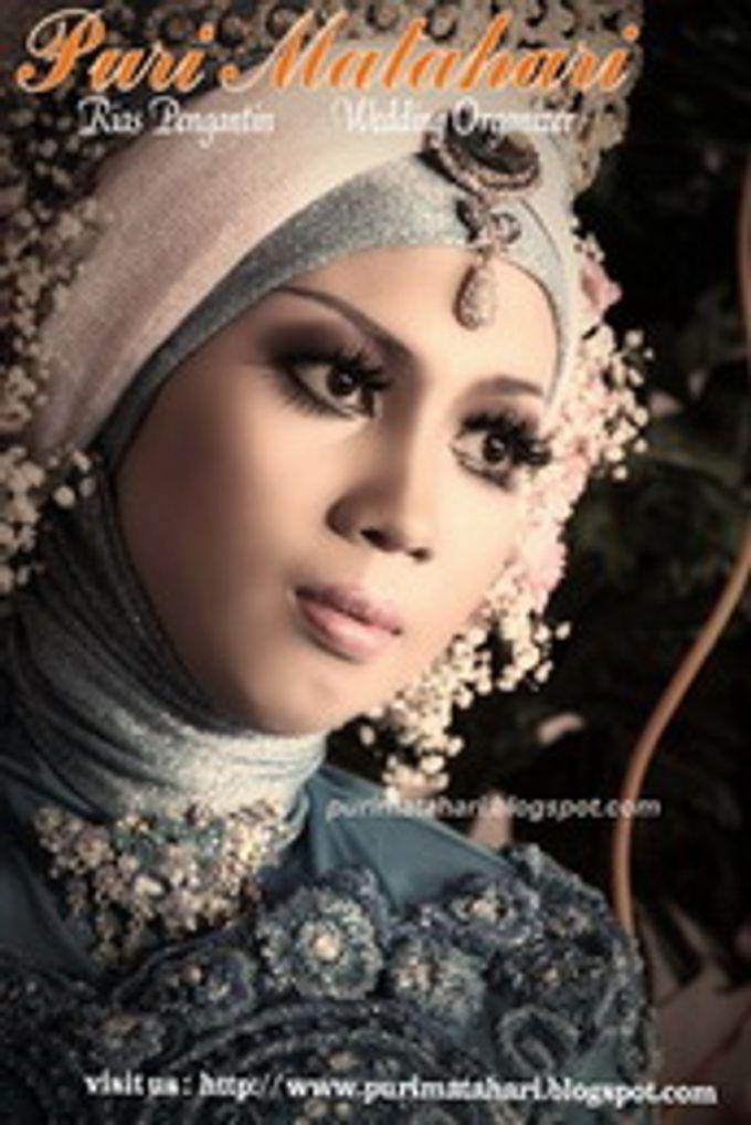 Pengantin Muslim by Puri Matahari Rias Pengantin - 001